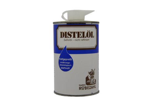 Distelöl 500 ml, in der Dose